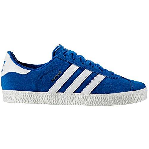 Scarpe Da Donna Adidas Gazelle J Rosa E Blu. Sneaker Collegiata Reale / Bianca