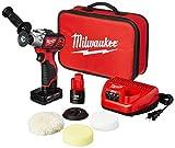Milwaukee 2438-22X M12 Variable Speed Polisher/Sander - Xc/Cp Kit