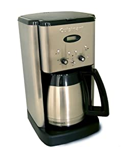 Factory-Reconditioned Cuisinart DCC-1400FR Brew Central 10-Cup Thermal Programmable Coffeemaker – Choosing this coffee-maker is as simple as 1-2-3