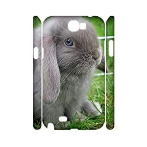 Rabbit 3D-Printed ZLB824255 Brand New 3D Phone Case for Samsung Galaxy Note 2 N7100