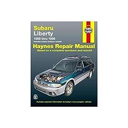 subaru liberty australian automotive repair manual 1989 to 1998 rh amazon com subaru legacy owner's manual subaru legacy repair manual