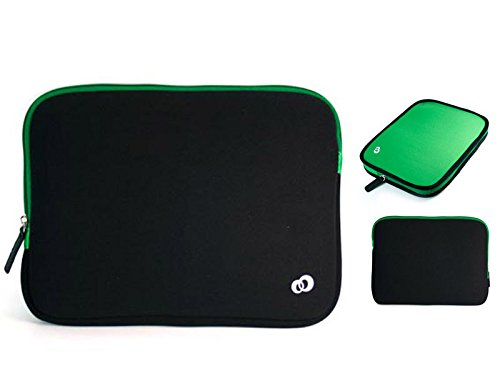 GoClever Quantum 1010M (Tablet Phone) Tablet Neoprene Reversible Cover in Green by Nevissbags
