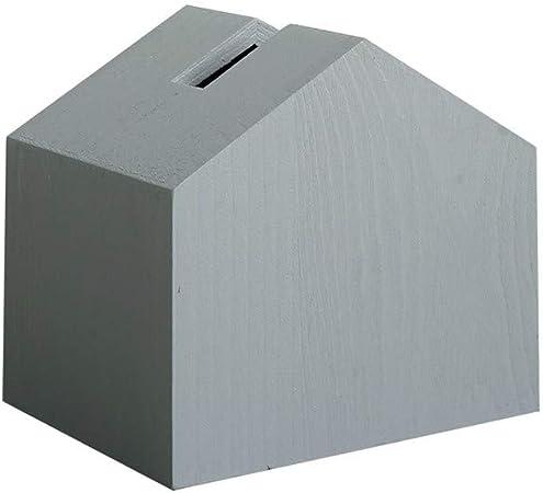 ENXING Caja de pañuelos de Madera como un Soporte para Toallas de Papel Tipo casa (Estilo Europeo) 14x13x11cm Gris: Amazon.es: Hogar
