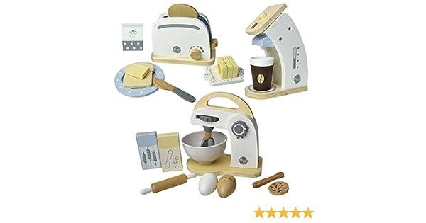 Meppi Appliances Set Tostadora / cafetera / licuadora de Madera ...