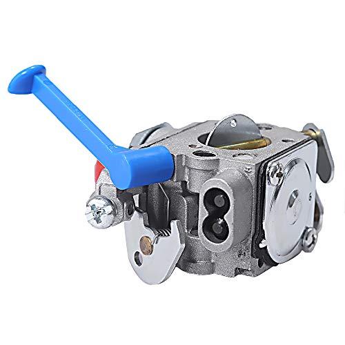Carburetor for Husqvarna Trimmer Weed Eater Wacker Edger 28cc 124L 125L  125LDX 128C 128L 128LD 128R 128RJ Poulan Replaces Zama C1Q-W40A W38 with  Air