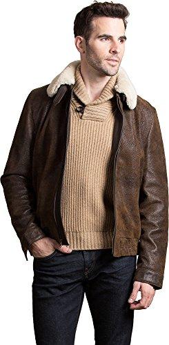 Distressed Lambskin Leather - 4