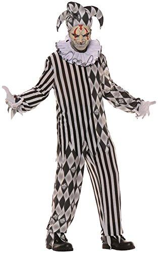 Evil Harlequin Jester Adult Costume ()