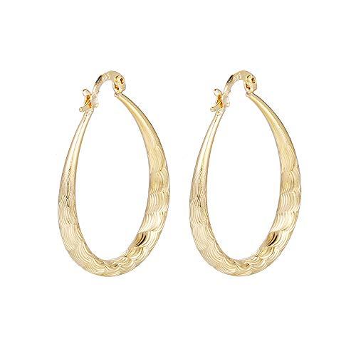 callm Woman Girl Earrings, Gold Stud Dangle Earings Fashion Classic Dangle Earring
