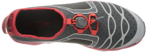 MBT Simba Sneakers Slip On Uomo Tessuto * Dynamic Grigio Rosso