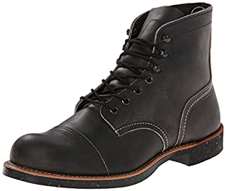 Red Wing Heritage Iron Ranger 6-Inch Boot, Charcoal Rough And Tough, 7.5 D(M) US (B00NEQXB4O) | Amazon price tracker / tracking, Amazon price history charts, Amazon price watches, Amazon price drop alerts