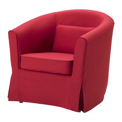 Ikea Chair cover, Nordvalla red