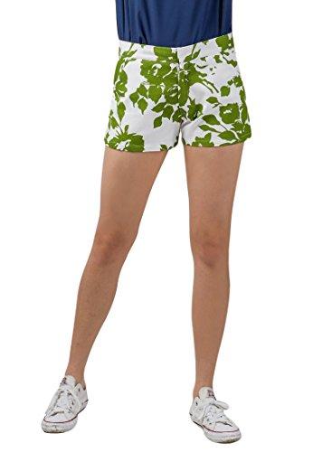 Plains and Prints Women's Maverick Shorts X-Large Offwhite - Shorts Maverick