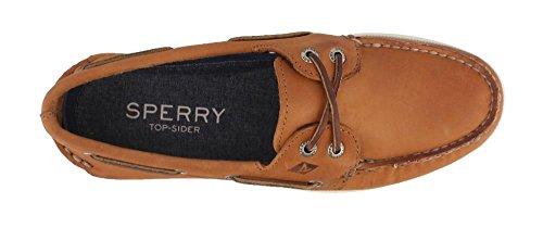 Sperry de Bateau Authentique Biege Bateau Chaussures Pour Moyen Croix Dentelle Original Sider Chaussures Top Hommes wtqatr