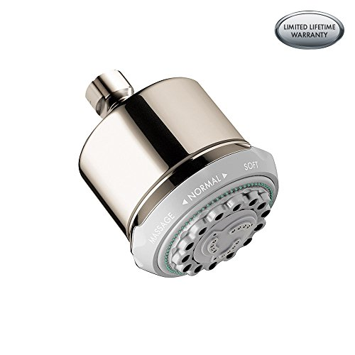 Hansgrohe 28496831 Clubmaster Shower Head, Polished Nickel