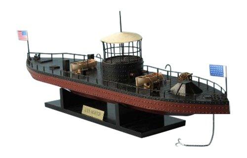 Hampton Nautical  Monitor Civil War Ship, Limited Edition, 21