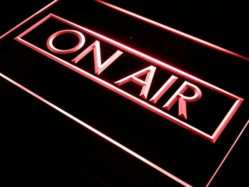 ADVPRO On Air Recording Studio LED Sign Neon Light Sign Disp