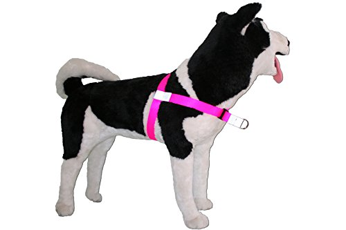 Image of No-Choke No-Pull Front-Leading Dog Harnesses, Sport Edition, 18-35 lbs, Bright Pink