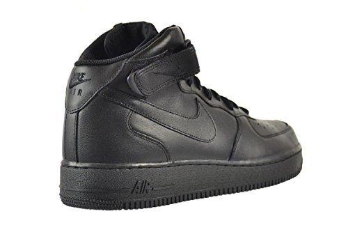 Nike Air Force 1 Mid 07 Mens Shoes BlackBlackBlack 315123001 8 DM US  B007U71QG8