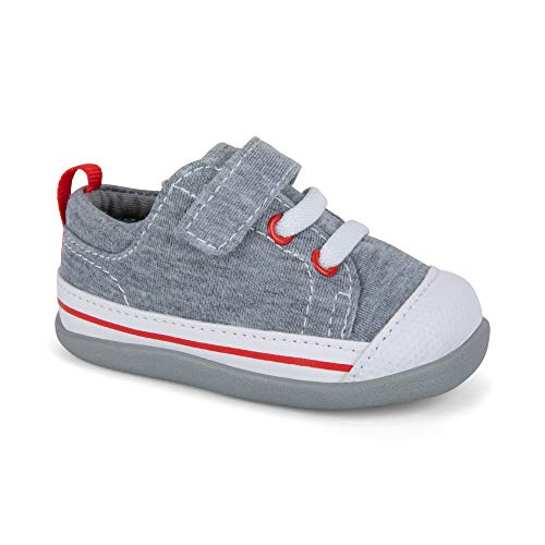 (See Kai Run SML119U160 Boys' Stevie II Boat Shoe, Gray Jersey, 4 M US)