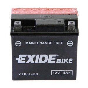 Batterie Moto Exide YTX5L-BS 12v 4Ah