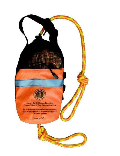 Bag Rope Throw - Mustang Throw Bag, 75 ft