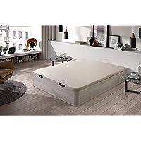 HOGAR24.es. Canapé abatible Madera Gran Capacidad con Tapa 3D y válvulas de transpiración