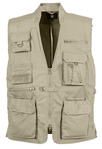 Plainclothes Concealed Carry Vest-Khaki -XXX-large