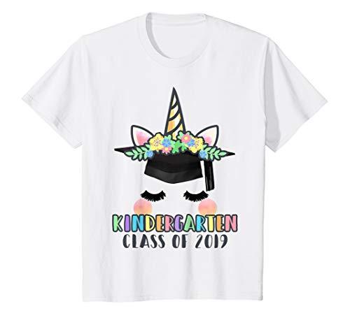 Kids Class of 2019 Kindergarten Graduation Gift T Shirt for Girls ()