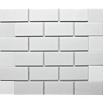 White Tile Ceramic Subway Brick Gloss Finish 2 X 4 Box Of 10 Sqft