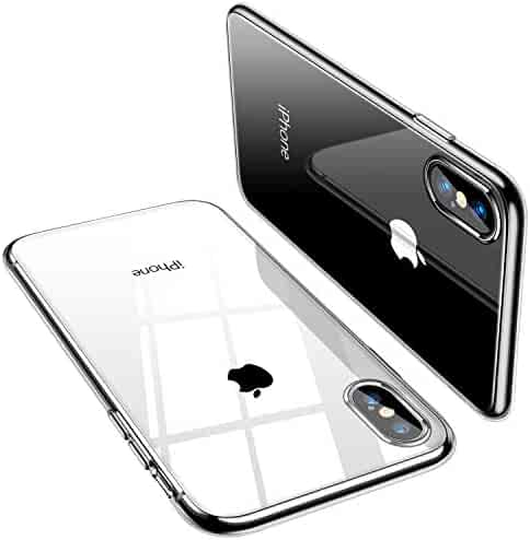 TORRAS Crystal Clear iPhone Xs Max Case, Soft TPU Thin Cover with Transparent Edge Slim Case Compatible with Apple iPhone Xs Max 6.5