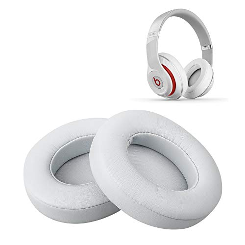 이 어 패드 교체 헤드폰 패드 귀 쿠션 Beats Studio 2.0 B0500B0501 및 Beats Studio 3.0 대응 (Silver) / Earpad Replacement Headphone Pad Ear cushion Beats Studio 2.0 B0500  B0501 & Beats Studio 3.0 supported (Silver)