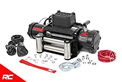 Rough Country 9,500 LB PRO Series Electric Winch w/Steel Cable PRO9500 Pro Series Electric Winch Steel