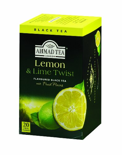 Ahmad Teas - Lemon & Lime  Black Tea 1.4oz - 20 Tea Bags
