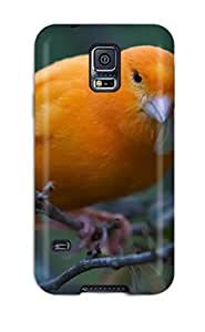 BenjaminHrez Scratch-free Phone Case For Galaxy S5- Retail Packaging - Canary