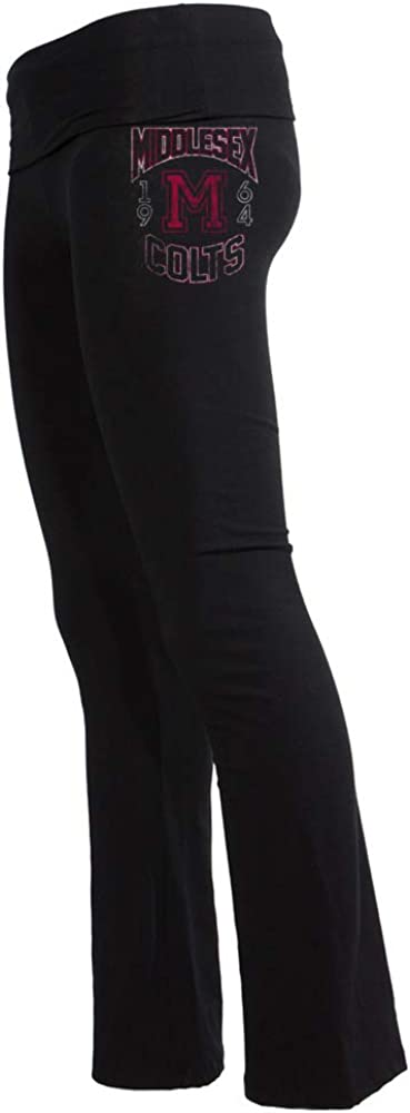 Venley Official NCAA Middlesex CC mxcc1003 Womens Yoga Pant