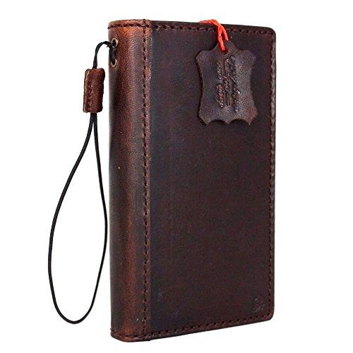 100% Handmade Italian Leather - Genuine Italian Leather Case for Iphone 6 Book Wallet Handmade S Luxury Handtec
