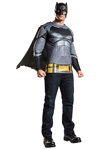 RUBIE'S COSTUME COMPANY INC Men_s Batman v Superman: Dawn of Justice Batman Muscle Chest Top  Multi  - http://coolthings.us