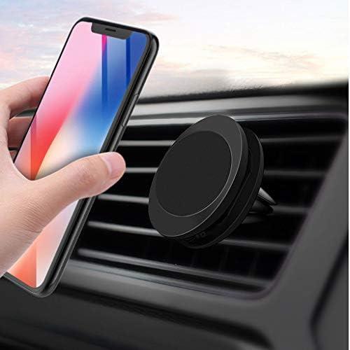 車の電話ホルダー、マグネットアウトレットユニバーサルメガネ強力な磁気ナビゲーション多機能ブラケット (色 : B)