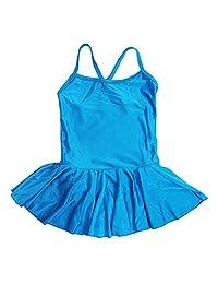 Happy Cherry Kids Girls Dance Camisole Leotard Dress Skirt Tutu for Ballet