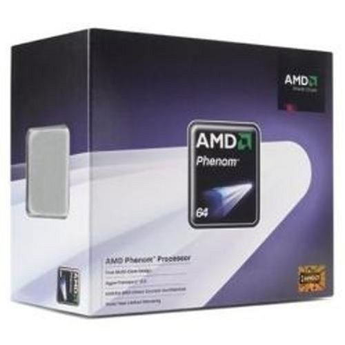 AMD HD8650WCGHBOX Phenom Triple-Core 8650 2.3GHz 95W L2-512KBx3 L3-2MB Socket AM2+ PIB CPU