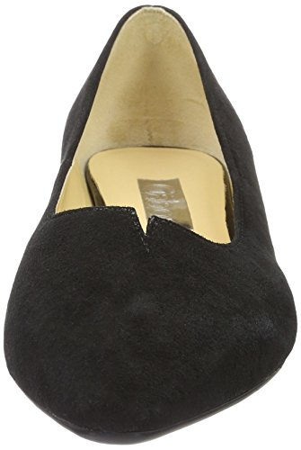 De Gabor Damesmode Pompen, Blauw-zwart (zwarte 67)
