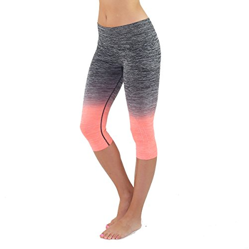 Womens Three quarter Tights Workout Leggings product image