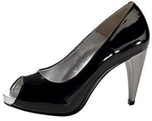 Brooke Ashley Black Shoes Dress Peeptoes Dress Uwwqx1d