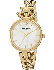 Kate Spade New York Womens Holland Watch, Gold, One Size
