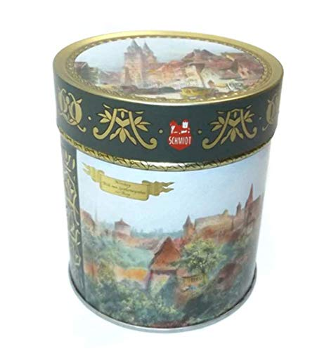 Vintage 1999 E. Otto Schmidt Germany Biscuit Tin Nurnberg, used for sale  Delivered anywhere in USA
