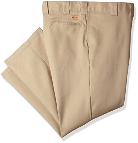 Dickies Men's 874 Big and Tall Flex Work Pant, desert sand, 48W x 32L
