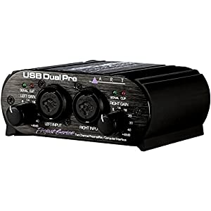 ART USB Dual Pre 2-Channel Audio Interface Pr...
