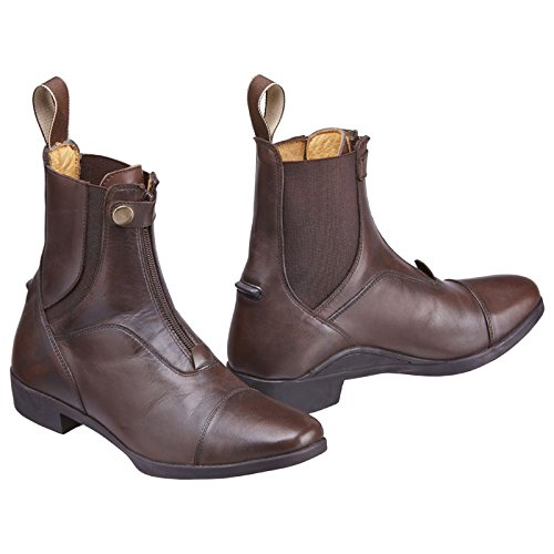 Pen Harry Italian Riding Antibacterial Boots Leather Tigerbox® Horse and Brown Jodhpur Hall Kingsley Sizes 3 13 Adults ZwYxqqtdT