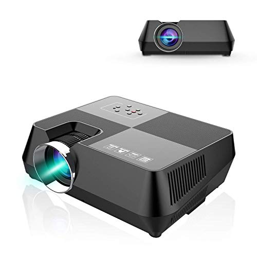 ZLHW Video Projector, Portable Mini Projector Multimedia LCD Projector...