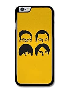 """AMAF ? Accessories Big Bang Theory Yellow Faces Like The Beatles Illustration case for for iPhone 6 Plus (5.5"""") hjbrhga1544"""